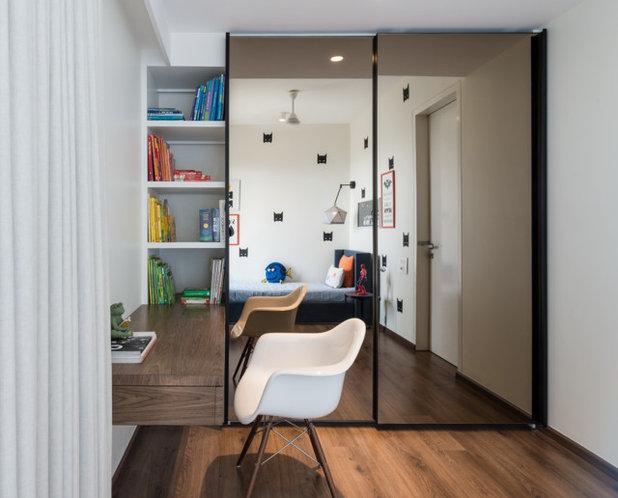 Contemporary Nursery by loc design house