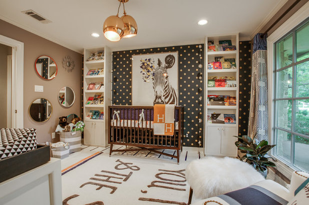 Contemporary Nursery by Turnstyle Design