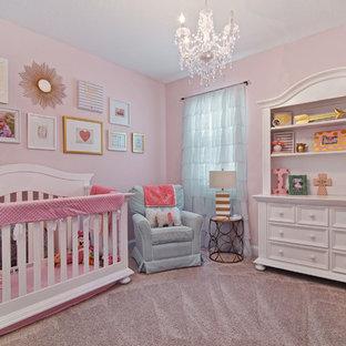 Chambre de bébé fille Jacksonville : Photos, aménagement et ...