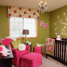 Contemporary Nursery by Che Bella Interiors