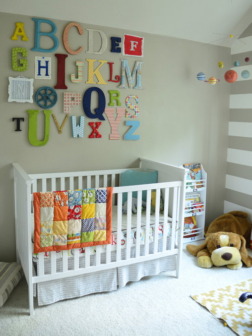 Oversized Letters Wall Decor | Houzz