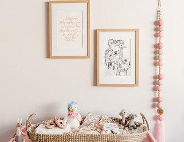 Austrailan Themed Girls Nursery