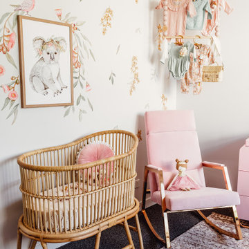 Australian Themed Girls Nursery