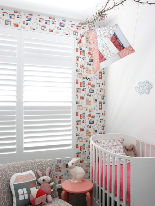 Wallpaper For Baby Houzz