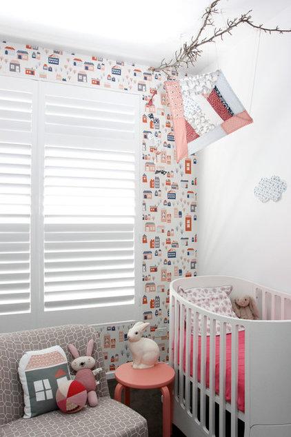 Contemporary Nursery by Hide & Sleep Interior Design
