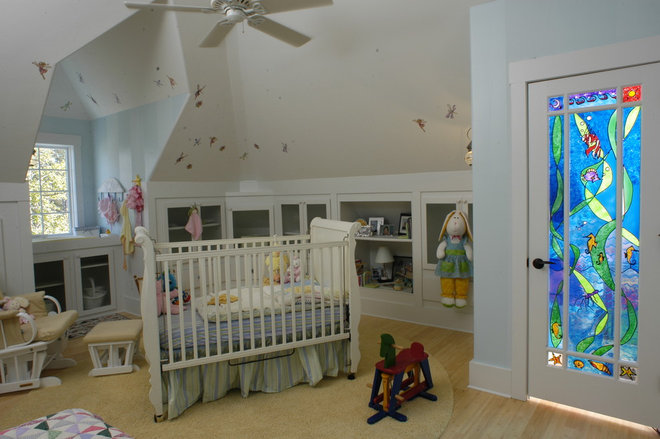 Eclectic Nursery by Tongue & Groove