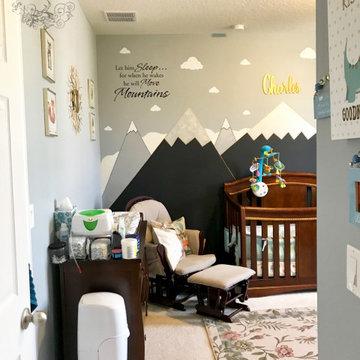 Baby Boy Luxe Woodland Nursery