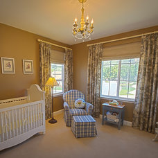 Traditional Nursery by Pamela Ryalls ~ Decorating Den Interiors