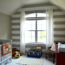 Eclectic Nursery Baby Boy's Room