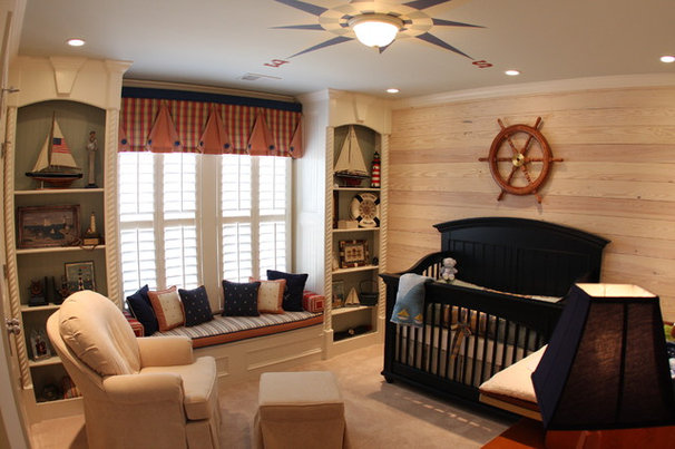 Traditional Nursery by Jennifer Reynolds - Jennifer Reynolds Interiors