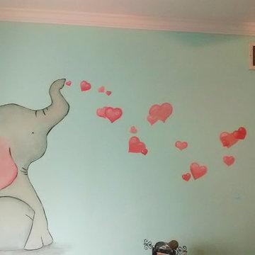 Baby Elephant Baby Room