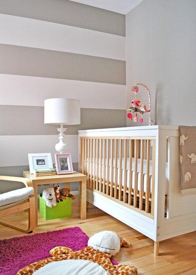 Современный Комната для малыша Baby Girl Nursery