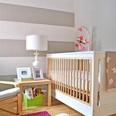 Contemporary Nursery by Hunter Studio