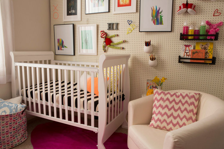 Contemporary Nursery by The Home