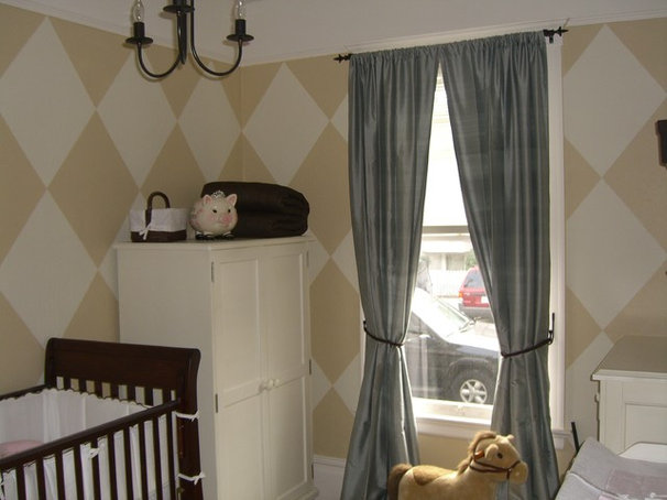 Traditional Nursery by Zoe Lee Design