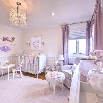 Baby Girl's Lavender Nursery
