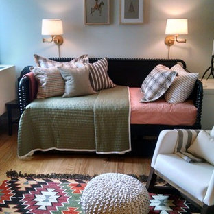 Design ideas for a large eclectic nursery in New York.