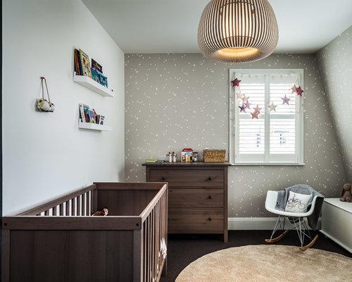 chambre de b b neutre avec moquette photos am nagement et id es d co de chambres de b b neutres. Black Bedroom Furniture Sets. Home Design Ideas