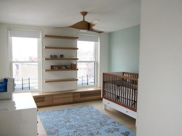 Contemporary Nursery by Neuhaus Design Architecture, P.C.
