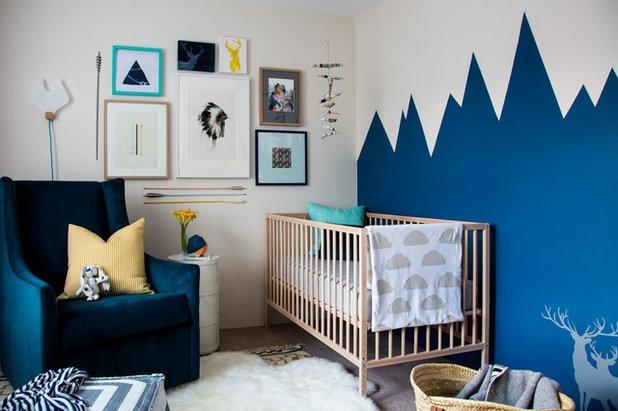 Farverige vægge: Slip de kreative former løs på børneværelset