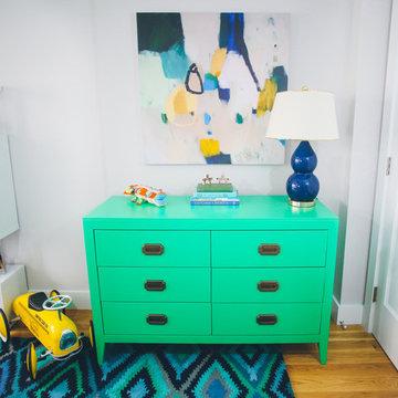 Barefoot Blonde Amber Fillerup's NYC Nursery