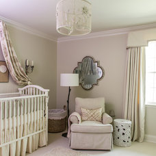 Traditional Nursery by Graci Interiors, LLC
