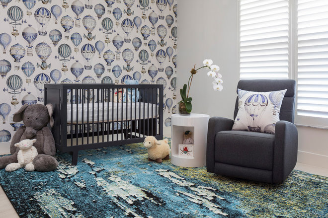 Transitional Nursery by CRT Studio