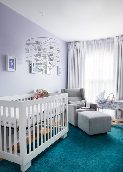 Transitional Nursery by Rad Design Inc