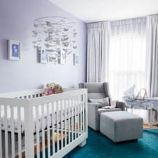 Eclectic Nursery by Rad Design Inc