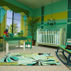 Contemporary Nursery by Spaces Design & Planning