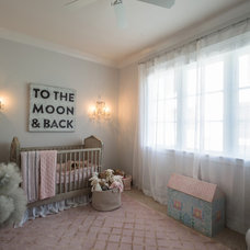 Traditional Nursery by P. Shea Design