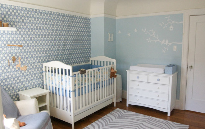Contemporary Nursery by Lucy McLintic