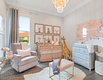 Blush, Grey & Gold Nursery