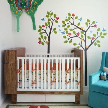 Bohemian Apartment Nursery