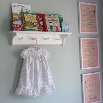 Bonjour Little Girl's Nursery