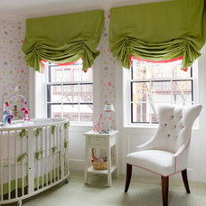 Traditional Nursery by JW Construction