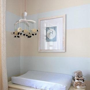 Design ideas for a small bohemian nursery in Boston.