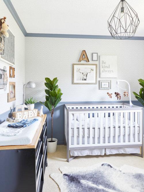 75 Boy Nursery Design Ideas - Stylish Boy Nursery Remodeling ...