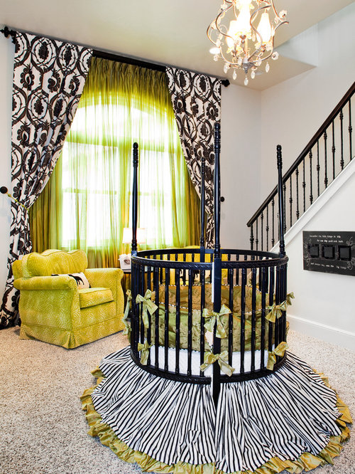Lime Green Curtains Houzz
