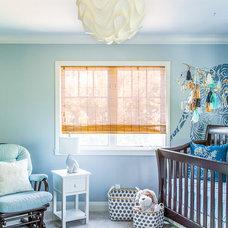 Beach Style Nursery by Susan Manrao Design