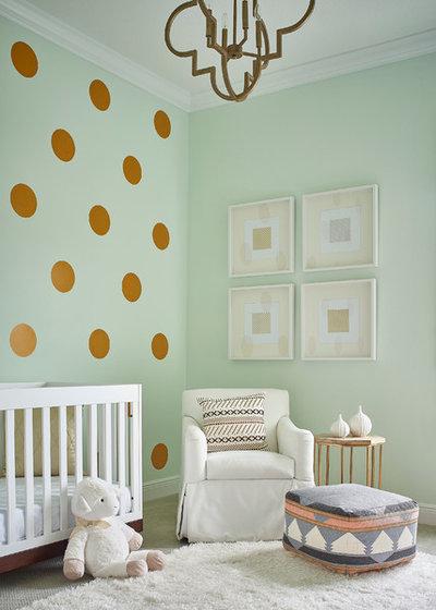 Fusion Nursery by Tina Marie Interior Design