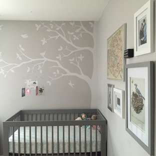 Inspiration for a small contemporary nursery in Denver.