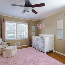 Traditional Nursery by Abbey Construction Company, Inc.