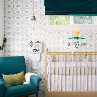 Nursery - eclectic nursery idea in Los Angeles