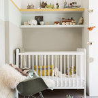 Shades Of White Baby Room Traditional Nursery Dallas