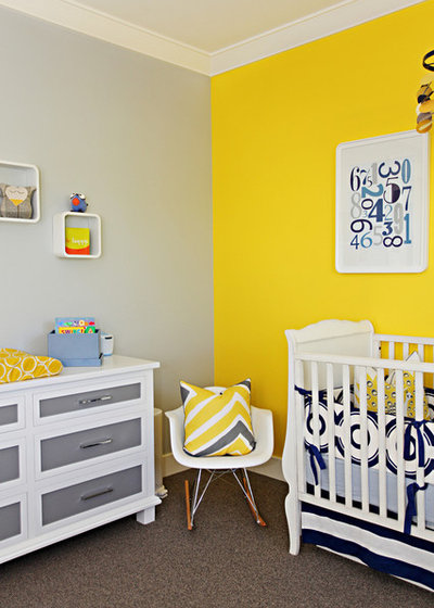 contemporain chambre de bb by brooke wagner design - Decoration Chambre Bebe Jaune