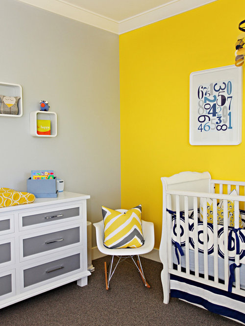Best Yellow And Gray Walls Design Ideas amp Remodel Pictures Houzz