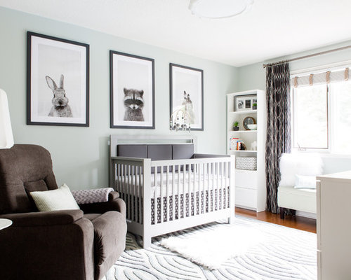 Modern nursery ideas designs remodels photos for Modern nursery images