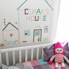 Eclectic Nursery by Hide & Sleep Interior Design