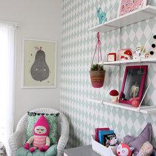 Eclectic Nursery by Hide & Sleep Interior Design